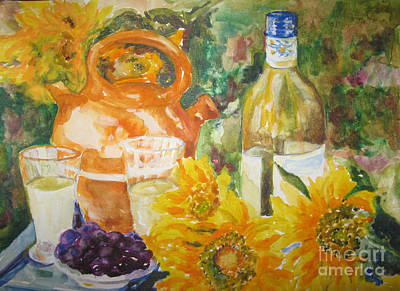 Painting - Lunch In Provence by Lisa Boyd