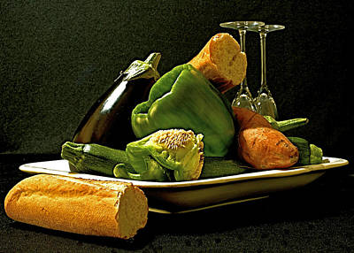Fantasy Royalty-Free and Rights-Managed Images - Lunch Time by Elf EVANS