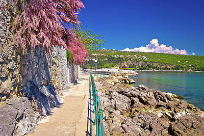 Photograph - Lungomare Coast Famous Walkway In Opatija by Brch Photography