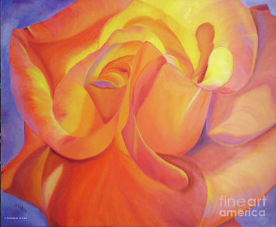 Painting Royalty Free Images - Luscious Royalty-Free Image by Julieanne Case