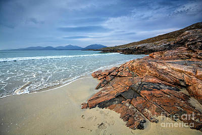 Luskentyre, Isle Of Harris Art Print by Nichola Denny