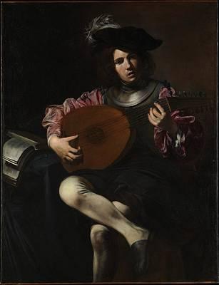 Lute Player Original by Valentin de Boulogne