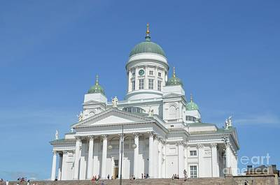 Photograph - Lutheran Cathedral Helsinki by Tom Wurl