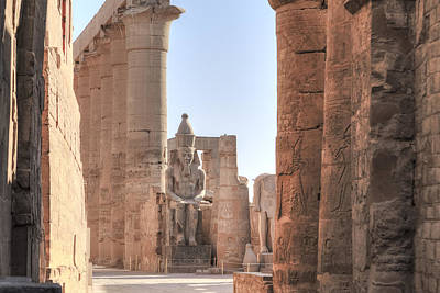 Luxor Temple - Egypt Art Print by Joana Kruse