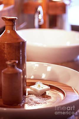 Photograph - Luxury Bathroom Interior by Anna Om