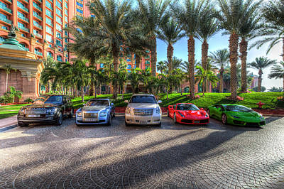 Photograph - Luxury Cars Dubai by David Pyatt
