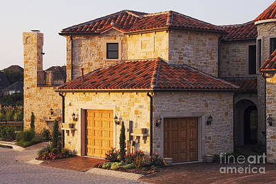 Flagstone Photograph - Luxury Home by Jeremy Woodhouse