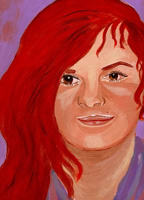 Lydia Art Print by Rusty Woodward Gladdish