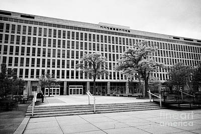 lyndon baines johnson department of education building Washington DC USA Art Print
