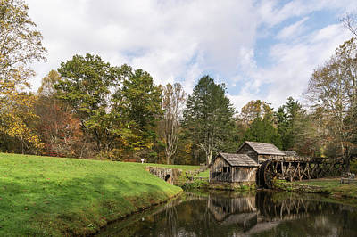 Photograph - Mabry Mill by Gregg Southard