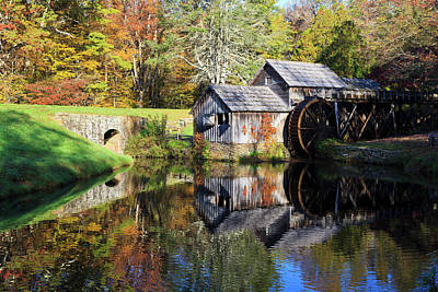 Photograph - Mabry Mill In Virginia by Jill Lang