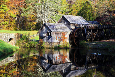 Photograph - Mabry Mill by Jill Lang