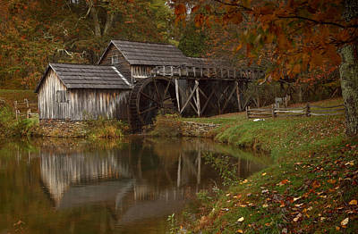 Digital Art - Mabry Mill by Jonas Wingfield