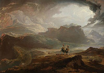 Painting - Macbeth by John Martin