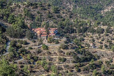 Byzantine Photograph - Machairas Monastery - Cyprus by Joana Kruse