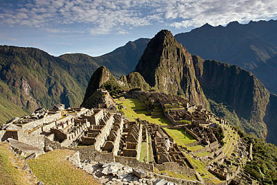Photograph - Machu Picchu Inca Ruins by Aivar Mikko
