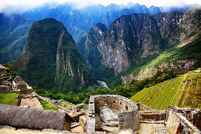 Photograph - Machu Picchu by Nika Lerman