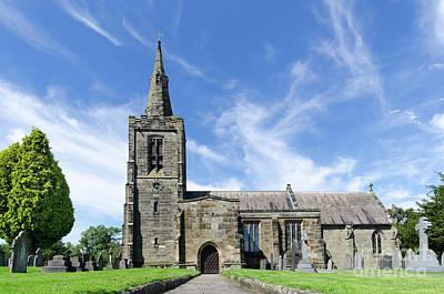Photograph - Mackworth Church by Steev Stamford