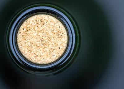 Photograph - Macro Closeup Wine Bottle Cork by John Williams