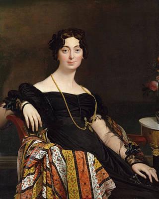 Object Painting - Madame Jacques-louis Leblanc by Jean-Auguste-Dominique Ingres