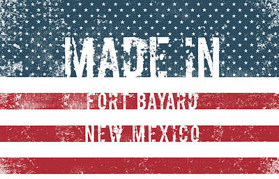Made In Fort Bayard, New Mexico Art Print
