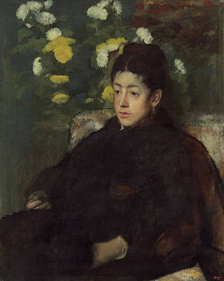 Degas Painting - Mademoiselle Malo by Edgar Degas