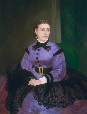 Scot Painting - Mademoiselle Sicot by Auguste Renoir