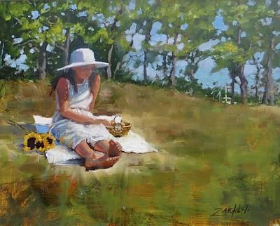 Quincy Painting - Madison Study 3 by Laura Lee Zanghetti