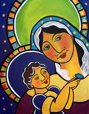 Painting - Madonna And Child by Jan Oliver-Schultz