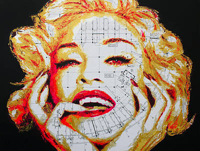 Painting - Madonna by Havi