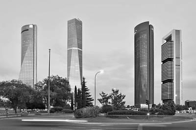 Photograph - Madrid Cuatro Torres by Marek Stepan