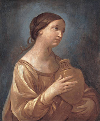 Painting - Magdalene With The Jar Of Ointment by Guido Reni