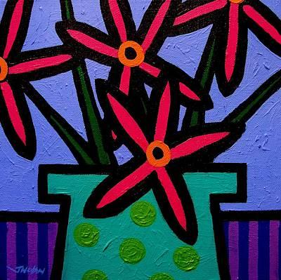 Magenta Flowers Original