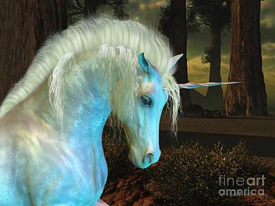 Livestock Digital Art - Magic Forest by Corey Ford
