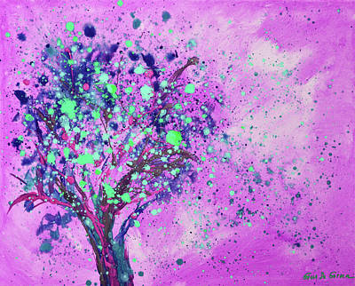 Painting - Magic Tree by Gina De Gorna