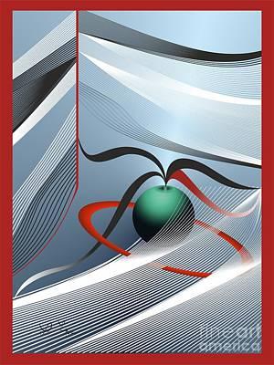 Digital Art - Magnetic Fields by Leo Symon
