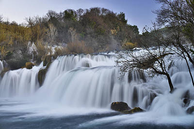 Water Photograph - Magnificent Waterfall by Ivan Slosar