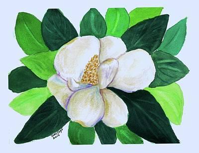 Magnolia IIi Art Print