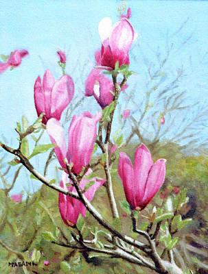 Painting - Magnolia by Masami Iida