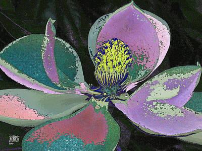 Magnolia Art Print by Michele Caporaso