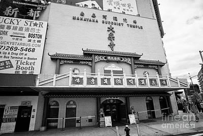 Mahayana Photograph - Mahayana Buddhist Temple Chinatown New York City Usa by Joe Fox