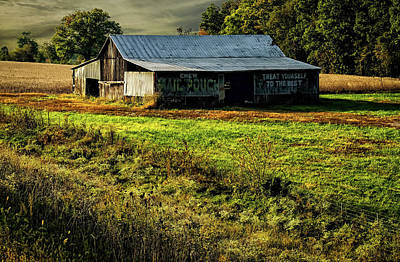 Photograph - Mail Pouch Barn by Elijah Knight