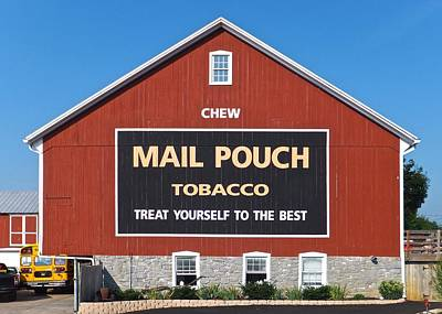 Photograph - Mail Pouch Tobacco by Tana Reiff