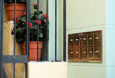 Photograph - Mailboxes by Nora Martinez
