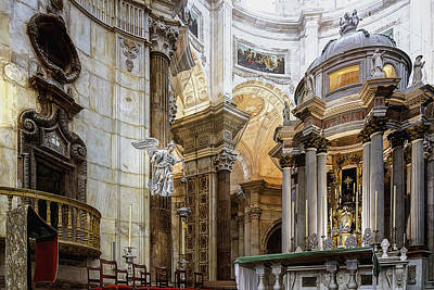 Photograph - Main Altar by Maria Coulson