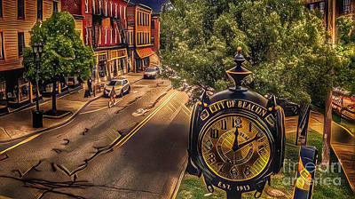 Photograph - Main Street Beacon by Scott Harrison