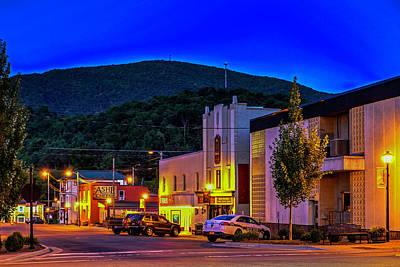 Photograph - Main Street Lights by Dale R Carlson