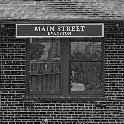 Main Street Station Art Print by Michael Flood