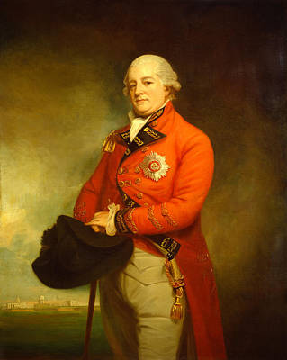 Romney Painting - Major General Sir Archibald Campbell by Mountain Dreams