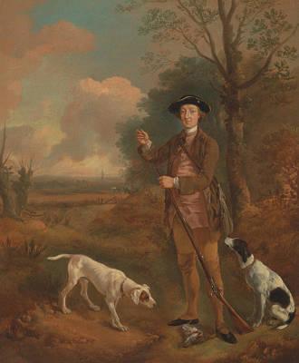 18th Century Painting - Major John Dade Of Tannington Suffolk by Thomas Gainsborough